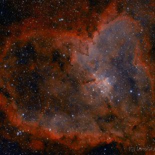 Heart_2015-11-09_HO_17+15x1800sec_v2 (Heart Nebula –  IC1805)