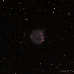 EGB6_2016-03-07_HO_25+27x1800sec_v3 (EGB6 – An Ancient Planetary Nebula)