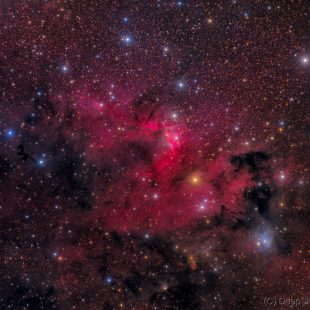 cavenebula_2016-10-04_lrgb_3591416x600sec_v3 (Sharpless 155 – The Cave Nebula)