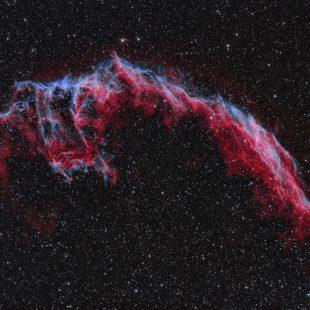 NGC6992_2017-10-19_HO_43+66x300sec_v2 (Eastern Veil Nebula – First Light QHY 163m)